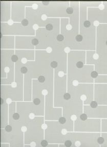 Paper & Ink Black & White Wallpaper BW21427 By Wallquest Ecochic For Today Interiors